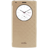 Husa protectie LG Quick Circle Case pentru LG G4, Wireless Charging, Gold