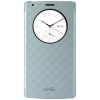 Husa protectie LG Quick Circle Case pentru LG G4, Wireless Charging, Blue
